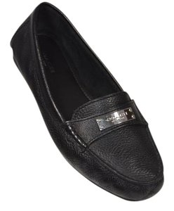 Coach Moccassins Loafers Black Flats
