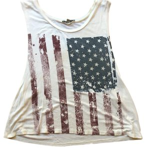 Charlotte Russe Top Red, white, and blue