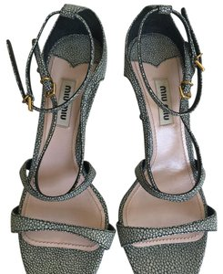 Miu Miu Pale grey blue Sandals