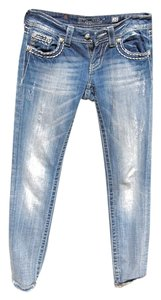 Miss Me Skinny Jeans-Medium Wash