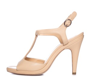 Chanel Tan Sandals