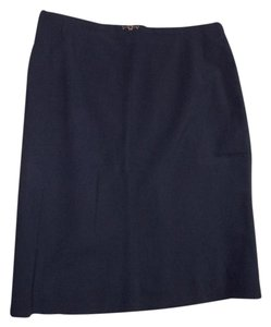 Escada Skirt Navy Blue