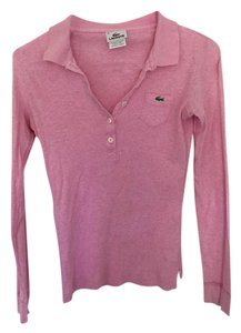 Lacoste Casual Button Down Shirt Pink