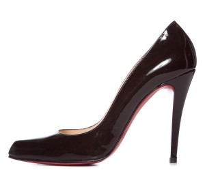 Christian Louboutin Dark Brown Pumps