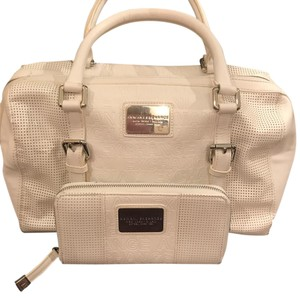 A|X Armani Exchange Satchel in White