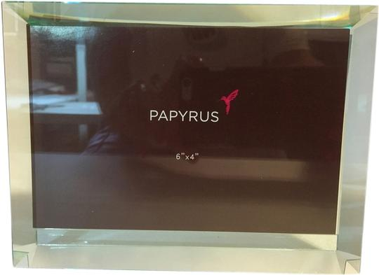 """PAPYRUS Beveled Glass Frame; Double-Side Glass Frame by Papyrus (6"""" x 4"""" Photos) [ Roxanne Anjou Closet ]"""