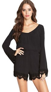 Forever 21 Boho Crochet Bell Sleeves Dress