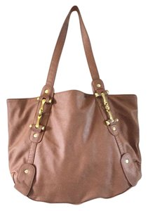ALDO Tote in Tan And Gold