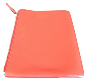 Theory Pouch Red Clutch