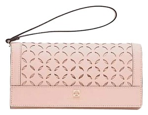 Kate Spade Leather POSETTA PINK Clutch