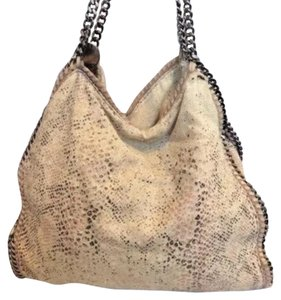 Stella McCartney Faux Tote in Snakeskin