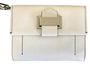 Reed Krakoff Leather White Clutch