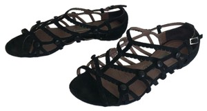 Tabitha Simmons Black suede Sandals