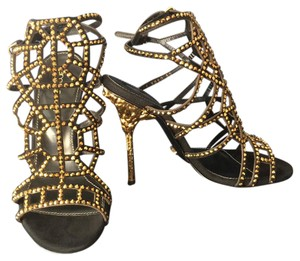 Sergio Rossi Black / gold Formal