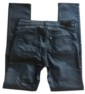 &Denim Skinny Jeans-Coated