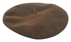 Parkhurst Chocolate Brown 100% Wool Beret