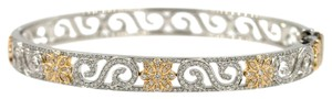 Tiffany & Co. Tiffany & Company Diamond Enchant Scroll Bangle Bracelet