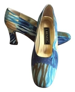 J. Renee Blue Multi Pumps