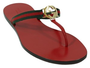 Gucci Sandal Thong Red Sandals