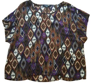 Charlotte Russe Top Multicolor