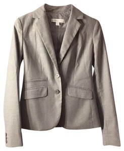 New York & Company Light Grey Blazer
