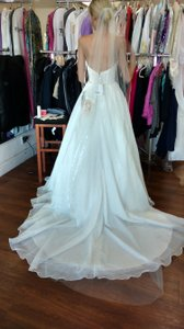 Light Ivory Illusion Tulle Wedding Veil Chapel Length