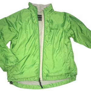 Marmot Hiking Running Jogging Green Jacket