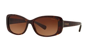 Coach HC 8168 (color) TORTOISE - GOLD TRIM - FREE 3 DAY SHIPPING