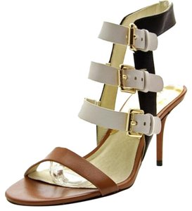 Michael Kors Black white and brown Sandals
