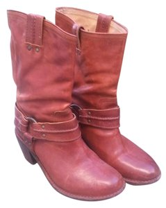 Frye Harness Leather Boot Whiskey Boots