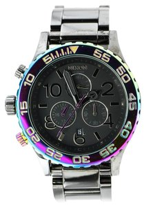 Nixon * Nixon 42-20 Chrono Watch in Gunmetal / Multi Watch
