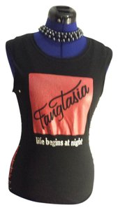 HBO Trueblood Sleeveless Small Sale 15off T Shirt Black/Red