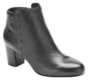 Via Spiga Leather Black Boots