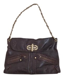 Carla Mancini Leather Leather Leather Leather Satchel in Brown