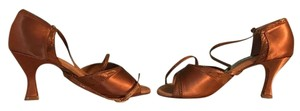 Capezio Dance Copper Sandals