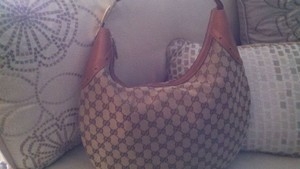 Gucci Gold Hardware Hobo Bag
