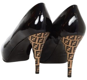 Fendi Black Platforms