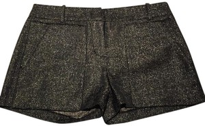 BCBGMAXAZRIA Dress Shorts Black with silver