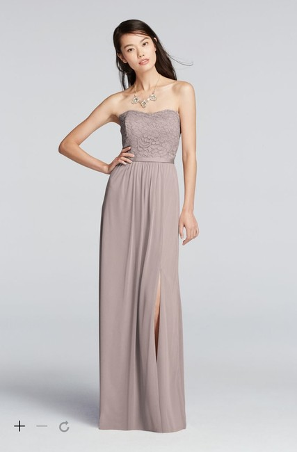 Item - Cameo Lace and Mesh Vintage Bridesmaid/Mob Dress Size 18 (XL, Plus 0x)
