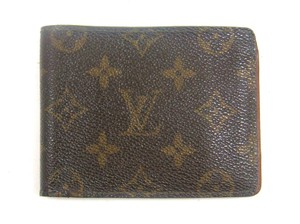 Louis Vuitton Multiple Monogram Canvas Leather Bifold Wallet France