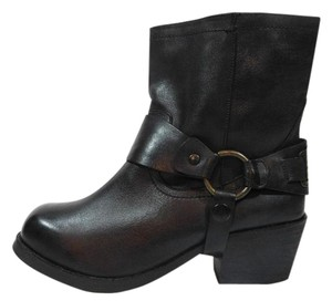 Carvela Kurt Geiger Leather Black Boots