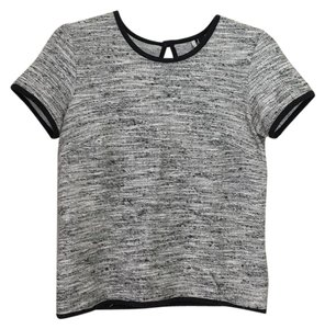 Topshop Top Black/white