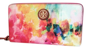 Tory Burch NWT TORY BURCH CAMERON WATERCOLOR CONTINENTAL WALLET