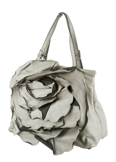 Valentino Tote in Black and Grey