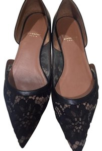 Givenchy Lace Black Flats