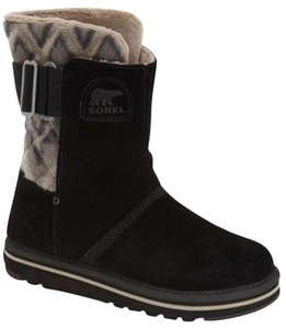 Sorel Newbie Campus Mid Black Boots