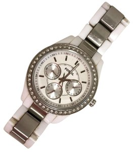 Fossil Fossil white Chronograph Style watch