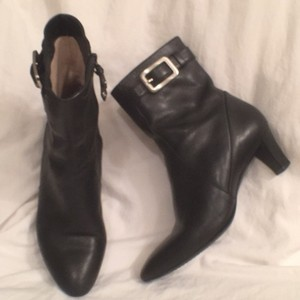 Cole Haan Leather Comfortable Black Boots