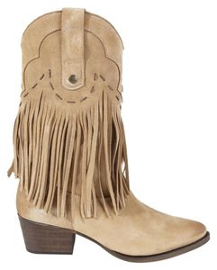 Western suede Boots beige Boots