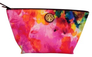Tory Burch NWT TORY BURCH CAMERON WATERCOLOR COSMETIC BAG